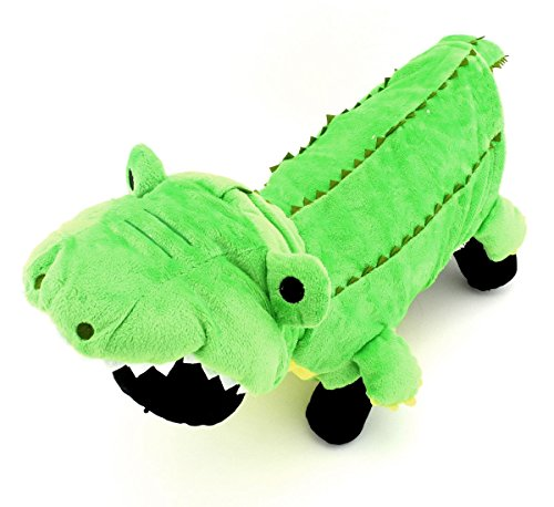 [SELMAI Crocodile Dog Halloween Costumes Small Pet Coats Winter Vest Puppy Cat Warm Dog Clothes Fleece Hoodie Green] (Halloween Outfits For Dogs)