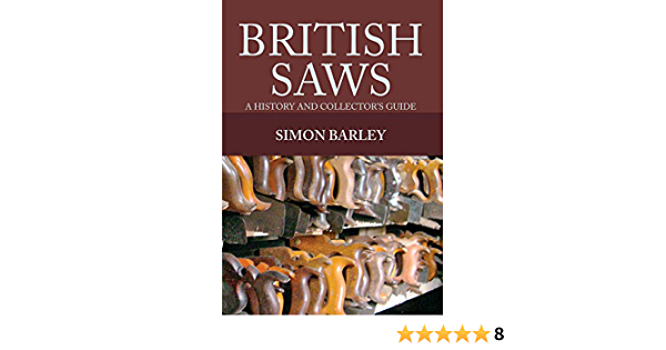 Barley-British Saws  BOOK NEW