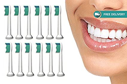 Philips Sonicare cepillo de dientes cabezales compatibles Replacements para adaptarse a ProResults Diamondclean FlexCare y HealthyWhite