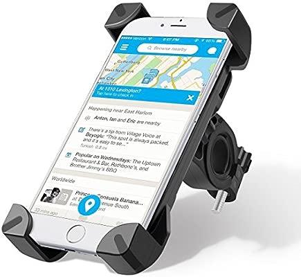 Unitify soporte móvil para bicicleta Giratorio 360 Grados GPS y Otros Dispositivos oporte para bicicleta para teléfonos con 3,5 - 7 pulgadas ...