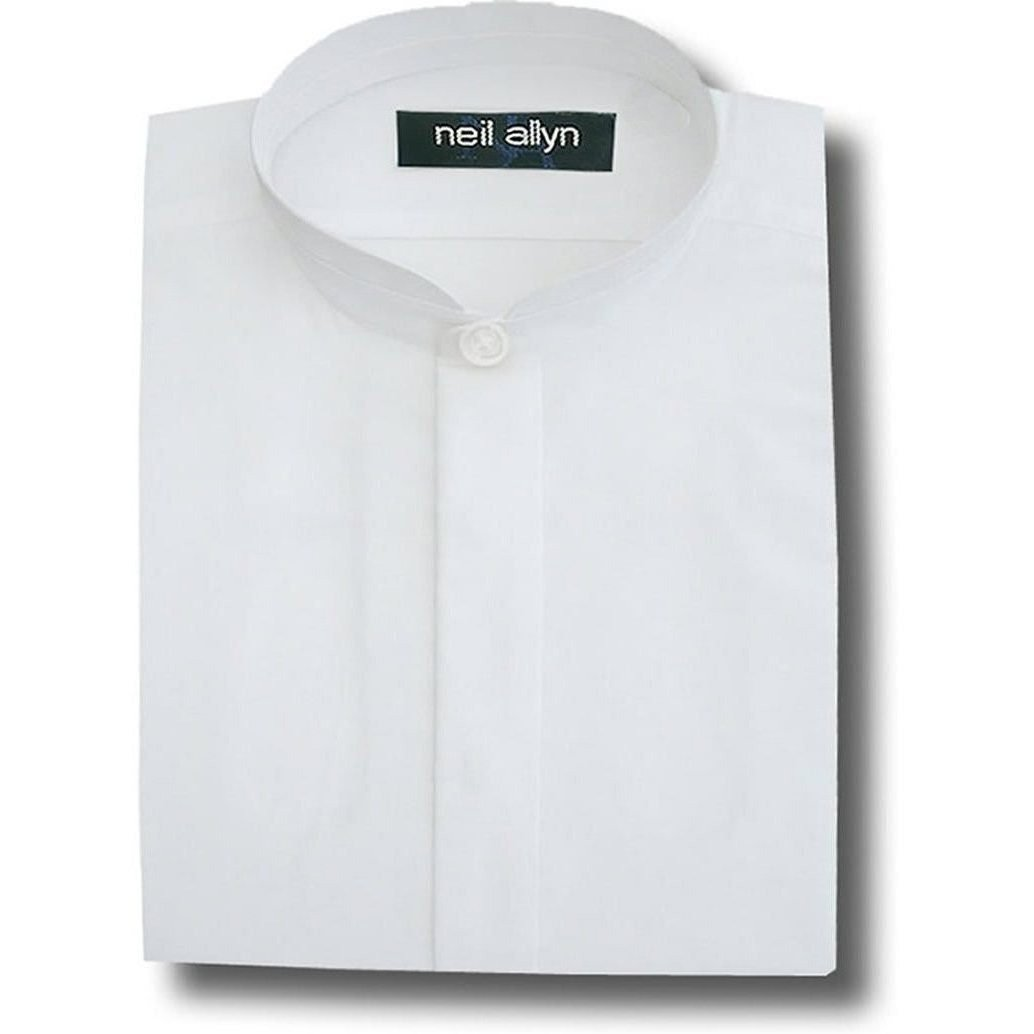 Neil Allyn Womens Banded Collar Shirt 2xl White At Amazon Womens