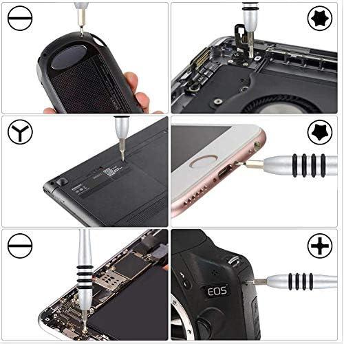 [スポンサー プロダクト]118 in 1 精密ドライバーセット ドライバーキット 磁気修理キット 修理キット iPhone/iPad /ps4/モバイル/ゲーム/タブレット/PC/Mac-bookなどの電子機器用のマルチツールキット