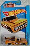 72 chevy toy truck - Hot Wheels 2015 HW City Custom '62 Chevy 72/250, Light Orange