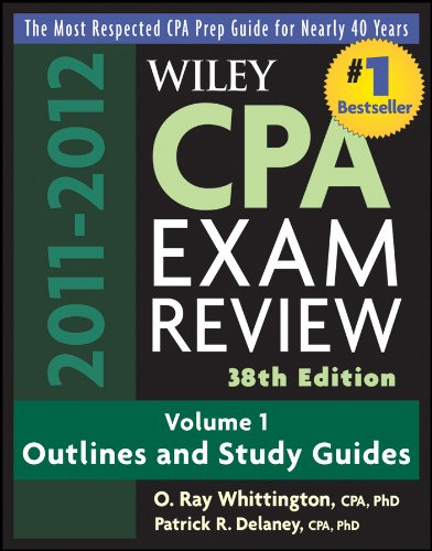 Download Wiley CPA Examination Review, Outlines and Study Guides: Volume 1 (Wiley CPA Examination Review Vol. 1: Outlines & Study Guides) Pdf