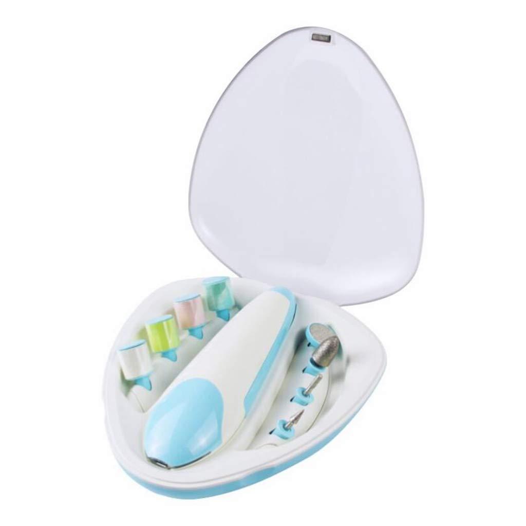 Anti-Fleisch-Lade tragbare Trimmer Manik/üre Baby Pflege Produkte HUXINFEI Baby elektrische Nagelfeile
