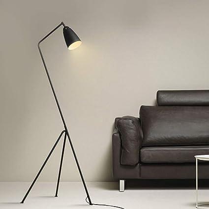 Raelf 30W einstellbar Licht Spiral Stehleuchte Stehleuchte Moderner kreativer Entwurfs-Art-Innendekoration 3000 K Beleuchtung Leselampe Life Light LED Warm-Wei/ß-Spirale Vertikal Innenstehleuchte