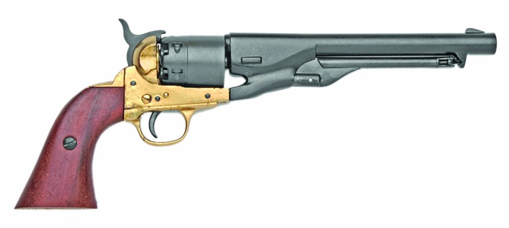 Denix M1861 Navy Issue Brass Revolver - Non-Firing Replica by Denix (Image #1)