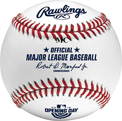 (Rawlings Official 2018 Opening Day Game MLB Baseball -)