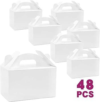 Amazon.com: Moretoes - 48 cajas de regalo de papel para ...
