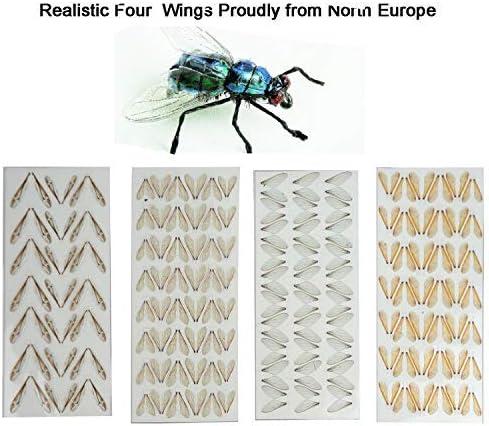 Bee Flies Crane Flies Wasp Flies Riverruns Super Realistic Wings Bottle Flies