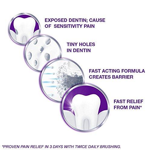 Sensodyne Rapid Relief Sensitivity Toothpaste, Extra Fresh, 3.4 ounce (Pack of 3) by Sensodyne (Image #4)