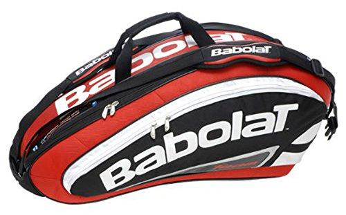 Babolat X9 - Bolsa para raquetas de tenis rojo rojo Talla:Std.: Amazon.es: Deportes y aire libre