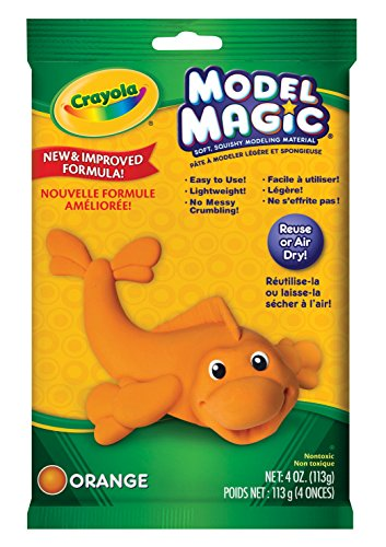 Crayola Model Magic 4-Ounce, Orange -