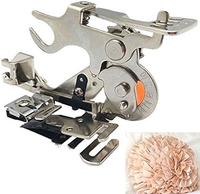 WeFoonLo 1 pieza Ruffler Máquina de coser Accesorio Prensatelas ...
