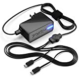 [UL Listed] Pwr+ Extra Long 6.5 Ft Dual 4A Rapid-Charger for Samsung-Galaxy Tab A, E, S, S2, 3, 4, 7.0 8.0 8.4 9.6 9.7 10.5 10.1 12.2 Pro Kids Note 2014; Google-Nexus 10; EP-TA10JWE ETA-U90JWE U90JWEBXAR U90JBEGXAR ETA0U80JBE Tablet