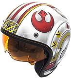 Best Star Wars Motorcycle Helmets - HJC Helmets IS-5 Helmet - X-Wing Fighter (MEDIUM) Review