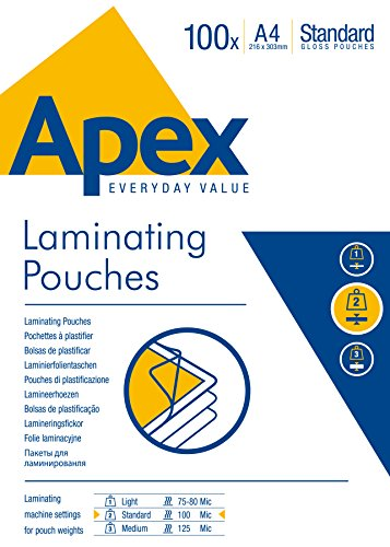 Fellowes Apex Laminating Pouch - 6
