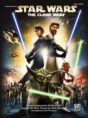 Star Wars - The Clone Wars: Easy Piano ebook