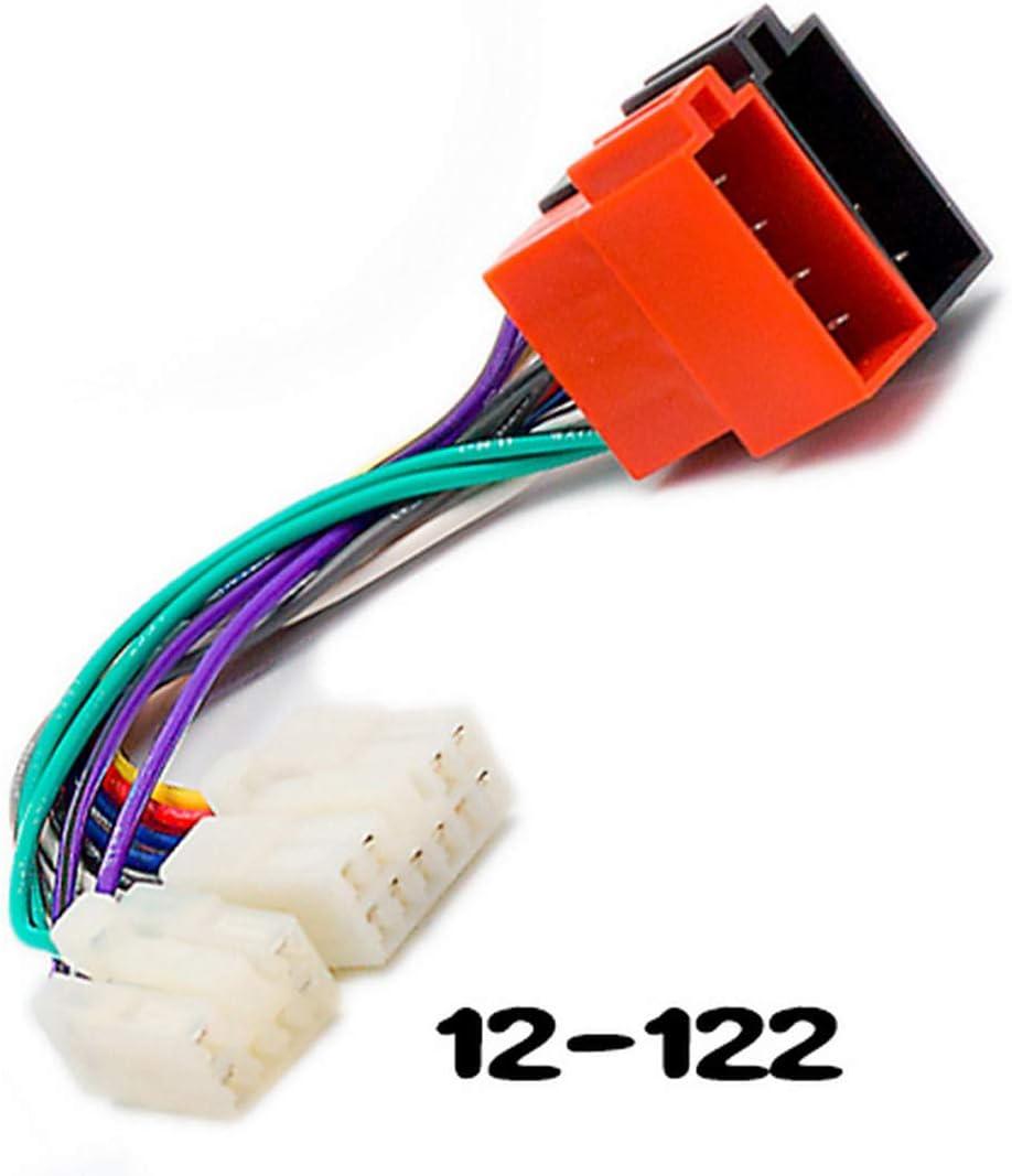 Vigorflyrun Parts Ltd Iso Standard 12 122 Kabelbaum Radio Kabel Adapter Für Toyota Lexus Dvd Cd Auto Audio Auto Stecker Kabel Stecker Auto