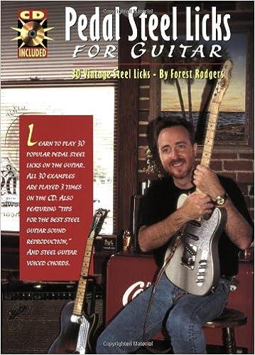 Book Pedal Steel Licks for Guitar: 30 Vintage Steel Licks (w/CD)
