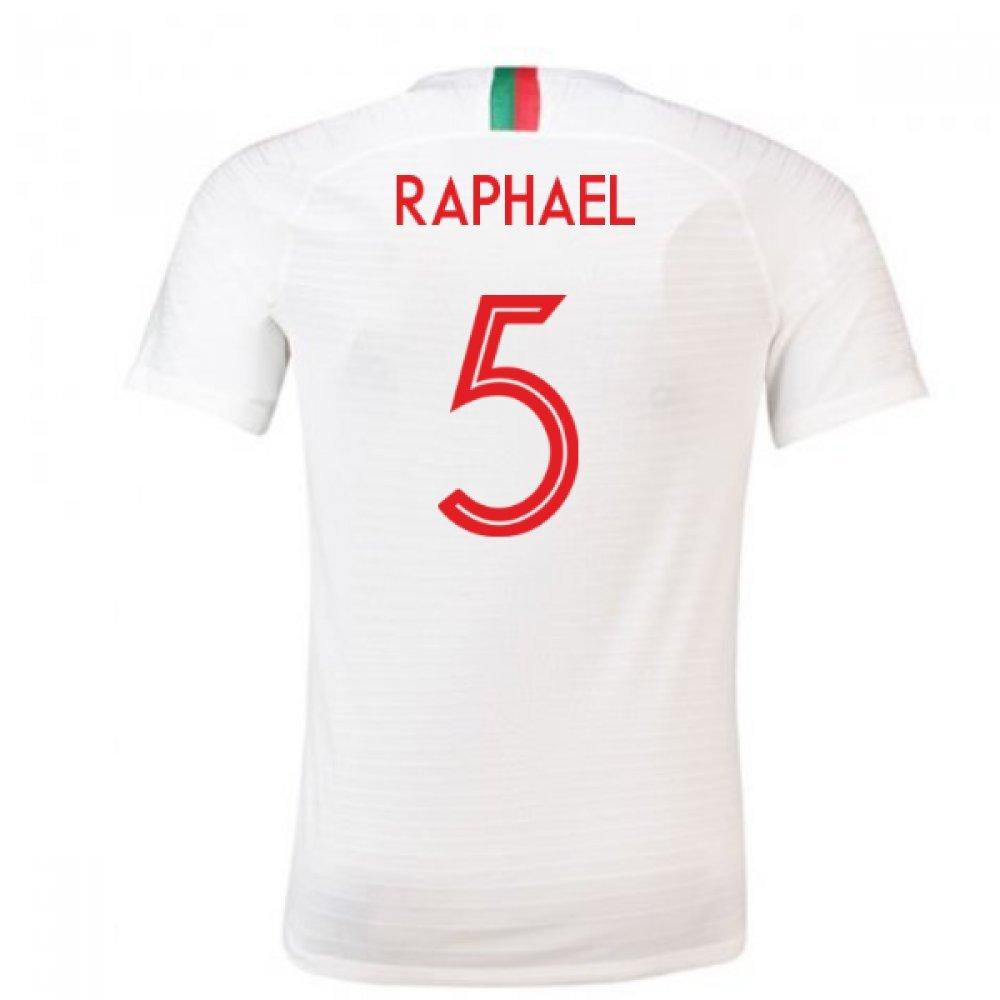 【海外限定】 2018-2019 Portugal Chest Away White Nike Football Shirt 34-36
