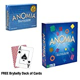 The Ultimate Anomia Bundle: Original Anomia and Party Edition Combo with Free Deck of Brybelly Cards