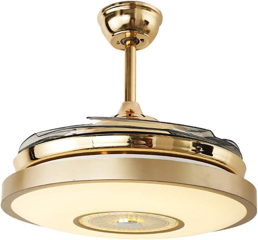 Invisible Ventilador De Techo Con Luz Mando A Distancia,42 inch 3 ...