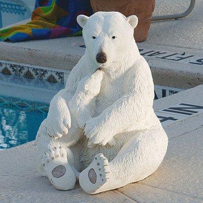 Design Toscano The Polar Bear Pair Statue