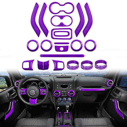 purple jeep wrangler wheel cover - 6