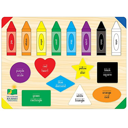 51iInp%2BnEyL - The Learning Journey Lift & Learn Colors & Shapes