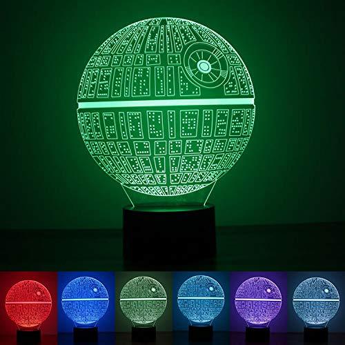 Despierta HNFYJQ Fuerza de de la Estrella lámpara Mesa la La rtCxBshdQ