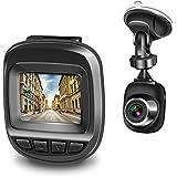 Actionpie Dash Cam 1080P Car DVR Dashboard Camera Full HD Recorder, G-Sensor, WDR, Loop Recording, (Black) (Black)