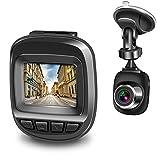 Actionpie Dash Cam 1080P Car DVR Dashboard Camera Full HD Recorder, G-Sensor, WDR, Loop Recording (Black)