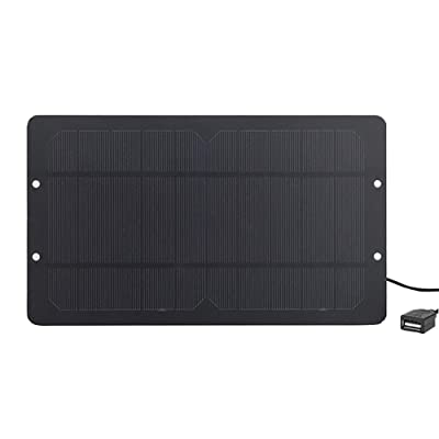 Soshine Mini Solar Panel 6v 6w Solar Charger - with High Performance Monocrystalline for Bicycle, Cellphone : Garden & Outdoor