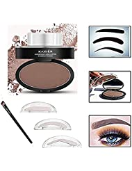 Taipo 3 Stencils Waterproof Eye Brow Stamp Perfect Eyebrow...