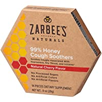 Deals on Zarbees Naturals 99% Honey Cough Soothers 14 Ct