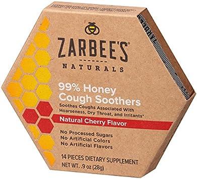 Amazon.com: Zarbees Naturals Chupetes de miel, 14 unidades ...