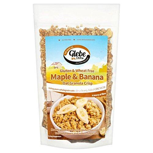 Glebe Farm Gluten de arce y plátano avena granola 325g