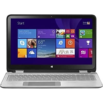 "HP ENVY x360 15-u110dx / 2-in-1 15.6"" Touch-Screen Laptop / Intel Core i5 / 8GB Memory / 1TB Hard Drive - Silver/Black"