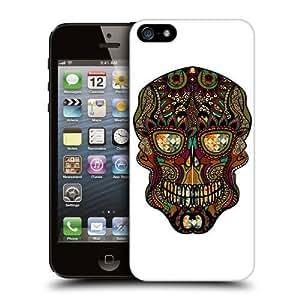 Female Coloured Skull Craft Hard Back Case Cover For Apple iPhone 5 5s