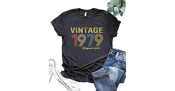 Amazon.com: Camiseta para mujer de 40 cumpleaños, estilo ...