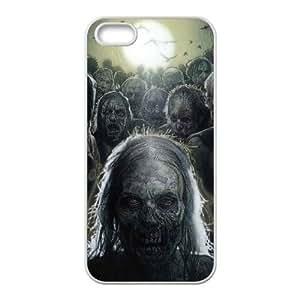 C-EUR Diy The Walking Dead Hard Back Case for Iphone 5 5g 5s