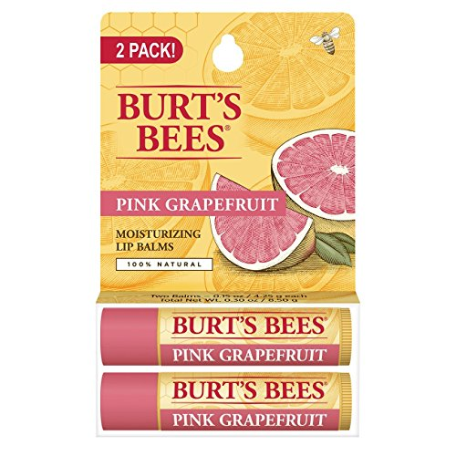 burts-bees-pink-grapefruit-moisturizing-lip-balm-015-oz-pack-of-2