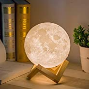 Mydethun Moon Lamp Moon Light Night Light for Kids Gift for Women USB Charging and Touch Control Brightness Wa