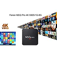 Feiren MXQ Pro Android TV Box Smart tv Amlogic S905 Loaded Android 6.0 (TV 4K / 1G / 8G / Support Online website / support WIFI) Streaming Media Player