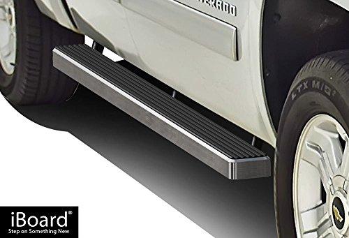 1500 Hd Model (APS IB-C4001A Sliver + Black iBoard Bolt Over for select Chevrolet Silverado 1500 HD Models)
