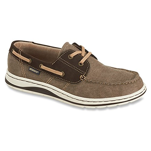 Sebago Men's Hartland Two Eye Athletic Boating Shoes Brown 5OxZQBDk