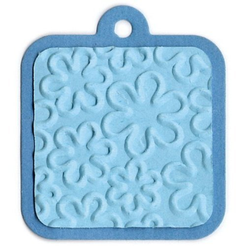 QUICKUTZ GooseBumpz 2 Inch by 2 Inch Embossing Dies, Daisy (Outline)