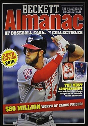 Beckett Almanac of Baseball Cards and Collectibles No 20