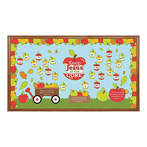 Jesus is the Core Bulletin Board Set ()
